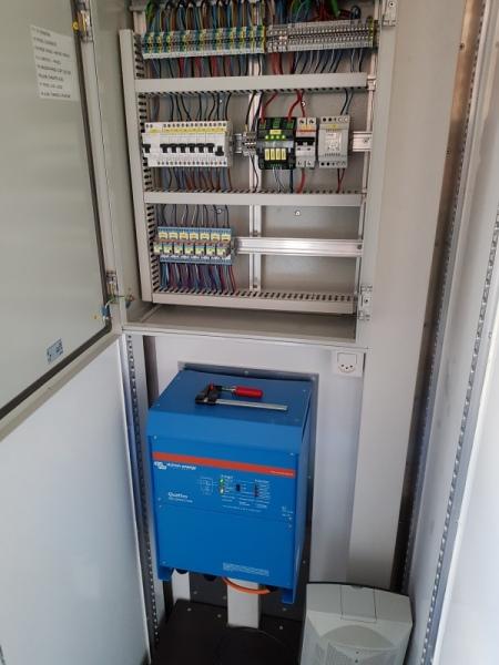 Stromversorgung / Centrale éléctrique